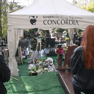 concordia pogrzeb